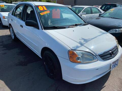 2001 Honda Civic for sale at North County Auto in Oceanside CA