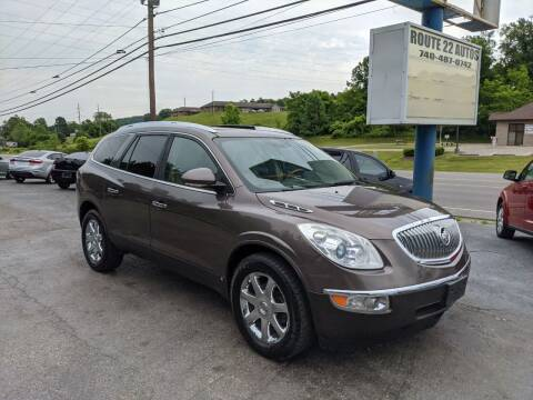 2009 Buick Enclave for sale at Route 22 Autos in Zanesville OH