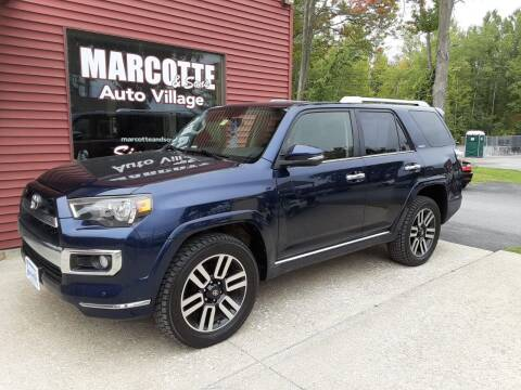 2015 Toyota 4Runner for sale at Marcotte & Sons Auto Village in North Ferrisburgh VT