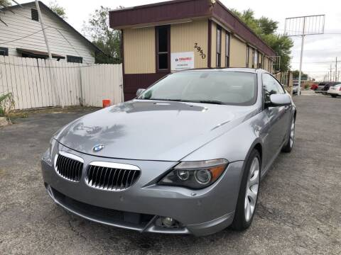 2006 BMW 6 Series for sale at CARS FROM US LLC in San Antonio TX