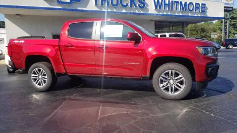 2021 Chevrolet Colorado for sale at Whitmore Chevrolet in West Point VA