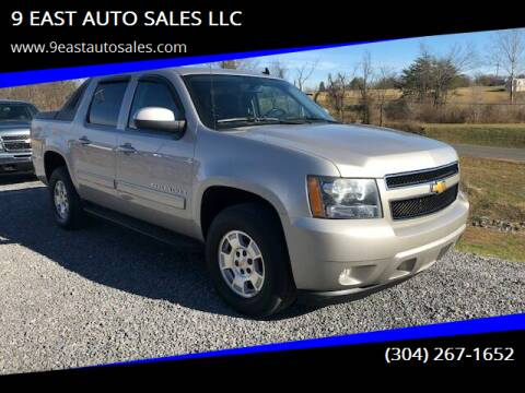 2009 Chevrolet Avalanche for sale at 9 EAST AUTO SALES LLC in Martinsburg WV