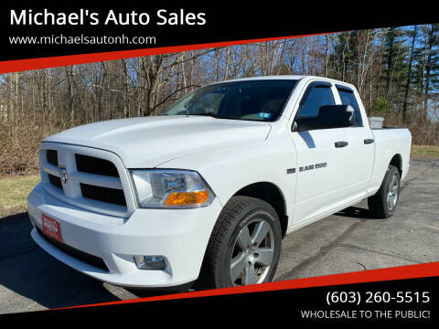2012 RAM Ram Pickup 1500 for sale at Michael's Auto Sales in Derry NH