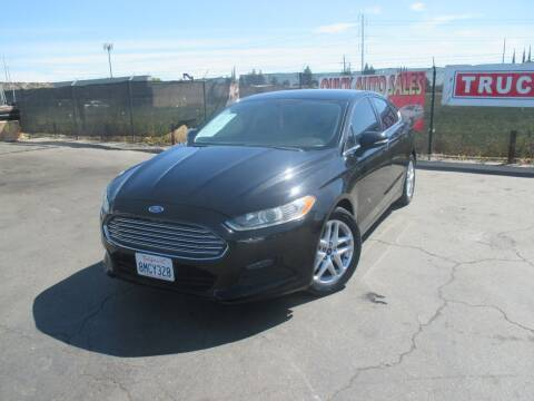 2016 Ford Fusion for sale at Quick Auto Sales in Modesto CA