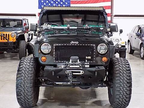 2012 Jeep Wrangler Unlimited for sale at Texas Motor Sport in Houston TX