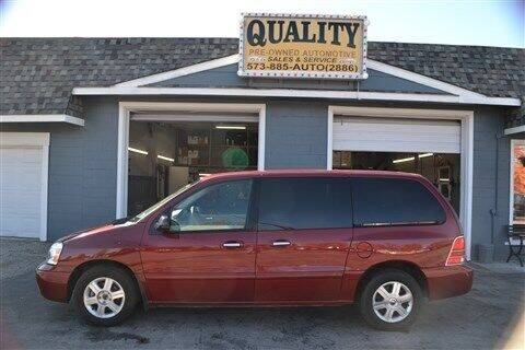 2005 Mercury Monterey for sale at Quality Pre-Owned Automotive in Cuba MO