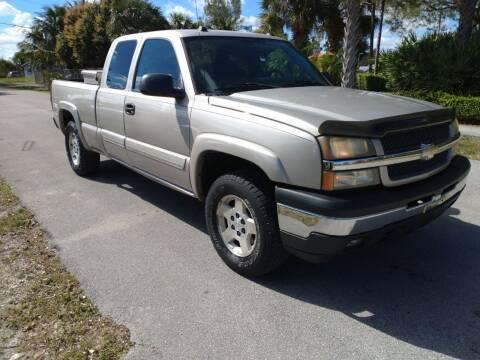 2005 Chevrolet Silverado 1500 for sale at LAND & SEA BROKERS INC in Deerfield FL