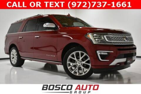 2019 Ford Expedition MAX for sale at Bosco Auto Group in Flower Mound TX