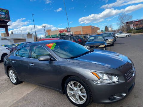 2014 Nissan Maxima for sale at Sanaa Auto Sales LLC in Denver CO