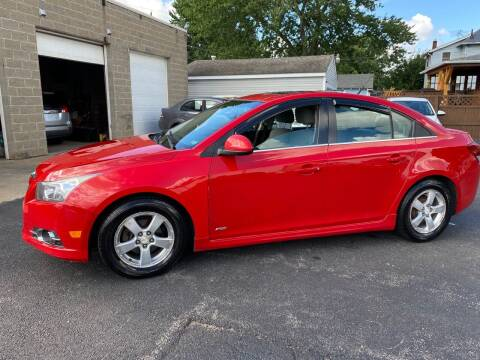 2012 Chevrolet Cruze for sale at E & A Auto Sales in Warren OH