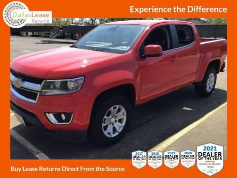 2018 Chevrolet Colorado for sale at Dallas Auto Finance in Dallas TX