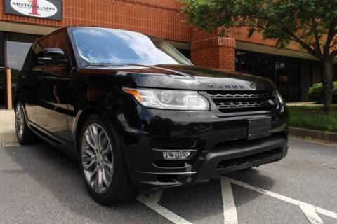 2017 Land Rover Range Rover Sport for sale at Team One Motorcars, LLC in Marietta GA