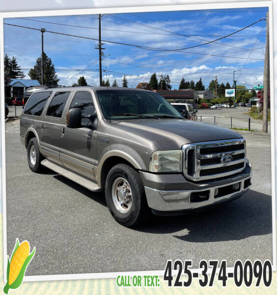 2002 Ford Excursion for sale at Corn Motors in Everett WA