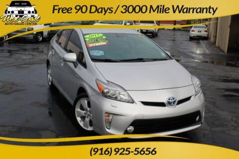 2015 Toyota Prius for sale at West Coast Auto Sales Center in Sacramento CA