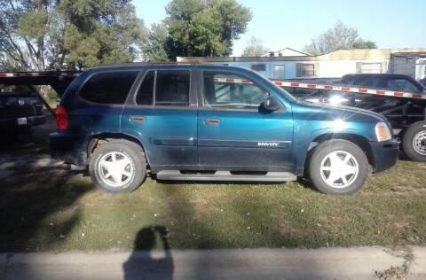 2002 GMC Envoy for sale at BRETT SPAULDING SALES in Onawa IA