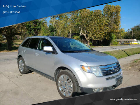 2010 Ford Edge for sale at G&J Car Sales in Houston TX