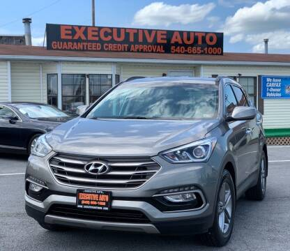 2017 Hyundai Santa Fe Sport for sale at Executive Auto in Winchester VA