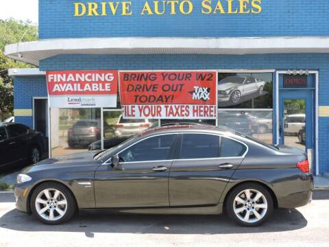 2011 BMW 5 Series for sale at Drive Auto Sales & Service, LLC. in North Charleston SC