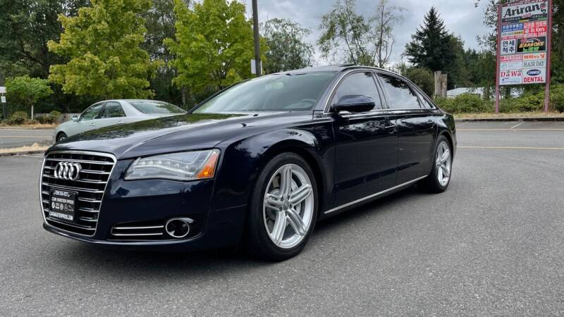 2013 Audi A8 L for sale at CAR MASTER PROS AUTO SALES in Lynnwood WA