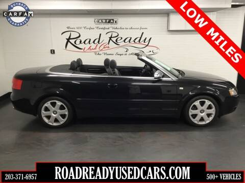 2005 Audi S4 for sale at Road Ready Used Cars in Ansonia CT