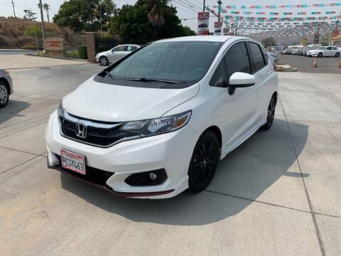 2018 Honda Fit for sale at Los Compadres Auto Sales in Riverside CA