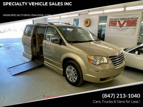 2010 Chrysler Town and Country for sale at SPECIALTY VEHICLE SALES INC in Skokie IL