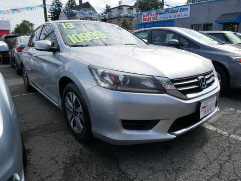 2013 Honda Accord for sale at M & R Auto Sales INC. in North Plainfield NJ