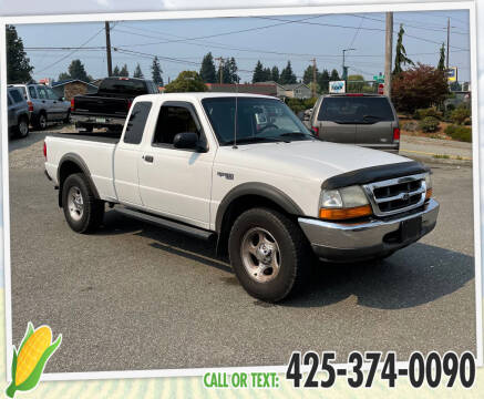 2000 Ford Ranger for sale at Corn Motors in Everett WA