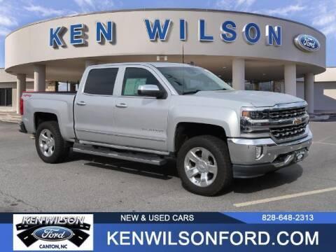 2018 Chevrolet Silverado 1500 for sale at Ken Wilson Ford in Canton NC