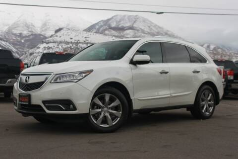 2014 Acura MDX for sale at REVOLUTIONARY AUTO in Lindon UT
