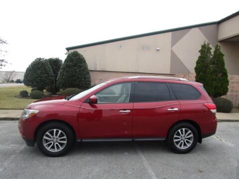 2016 Nissan Pathfinder for sale at JON DELLINGER AUTOMOTIVE in Springdale AR