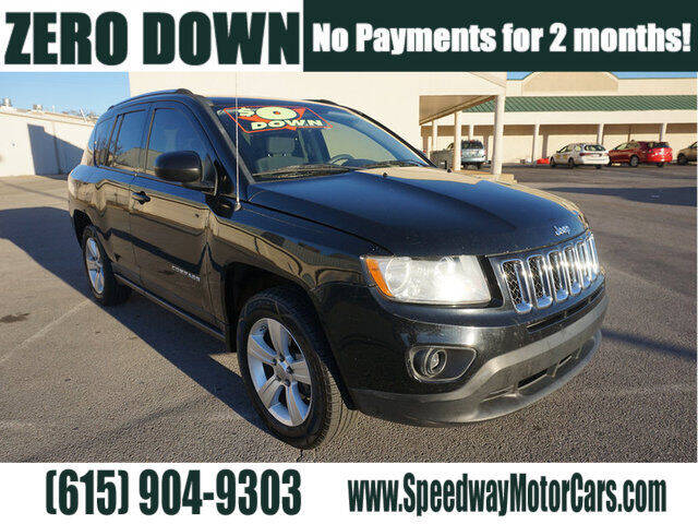 2012 Jeep Compass for sale at Speedway Motors in Murfreesboro TN