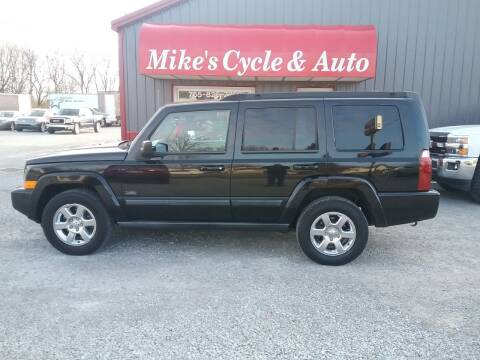 2007 Jeep Commander for sale at MIKE'S CYCLE & AUTO in Connersville IN