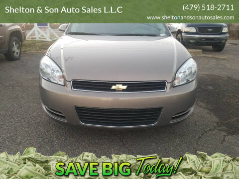 2006 Chevrolet Impala for sale at Shelton & Son Auto Sales L.L.C in Dover AR