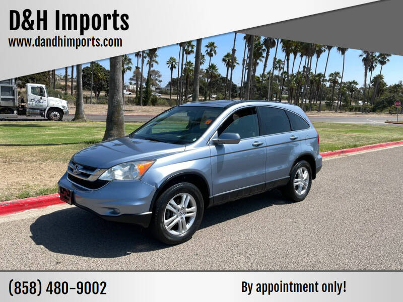 2010 Honda CR-V for sale at D&H Imports in San Diego CA