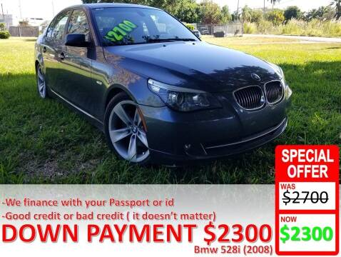2008 BMW 5 Series for sale at AUTO COLLECTION OF SOUTH MIAMI in Miami FL