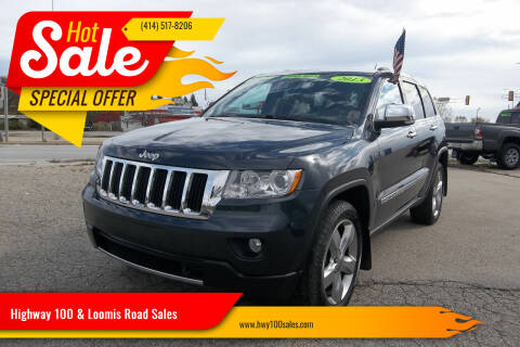 2013 Jeep Grand Cherokee for sale at Highway 100 & Loomis Road Sales in Franklin WI