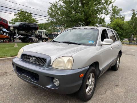 2003 Hyundai Santa Fe for sale at JerseyMotorsInc.com in Teterboro NJ
