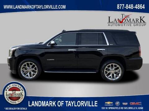 2017 GMC Yukon for sale at LANDMARK OF TAYLORVILLE in Taylorville IL