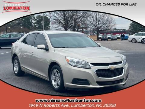 2015 Chevrolet Malibu for sale at Nissan of Lumberton in Lumberton NC
