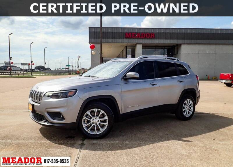 2019 Jeep Cherokee for sale at Meador Dodge Chrysler Jeep RAM in Fort Worth TX