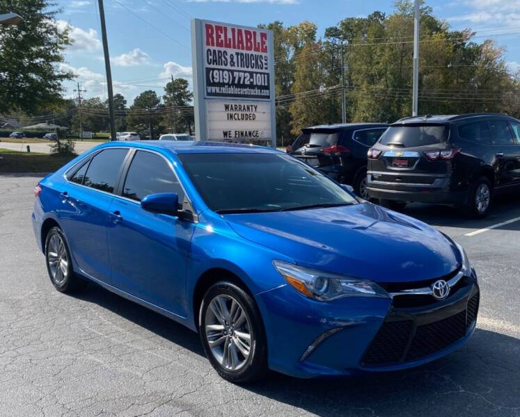2017 Toyota Camry for sale at Reliable Cars & Trucks LLC in Raleigh NC