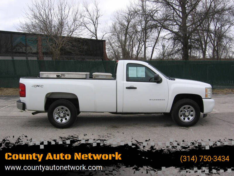 2011 Chevrolet Silverado 1500 for sale at County Auto Network in Ballwin MO