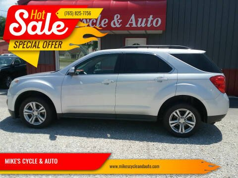 2013 Chevrolet Equinox for sale at MIKE'S CYCLE & AUTO in Connersville IN