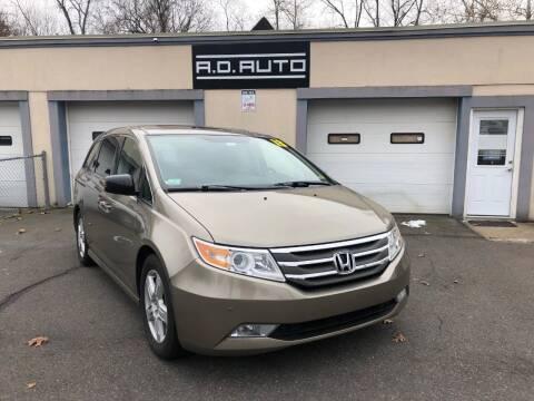 2013 Honda Odyssey for sale at ADAuto LLC in Bristol CT