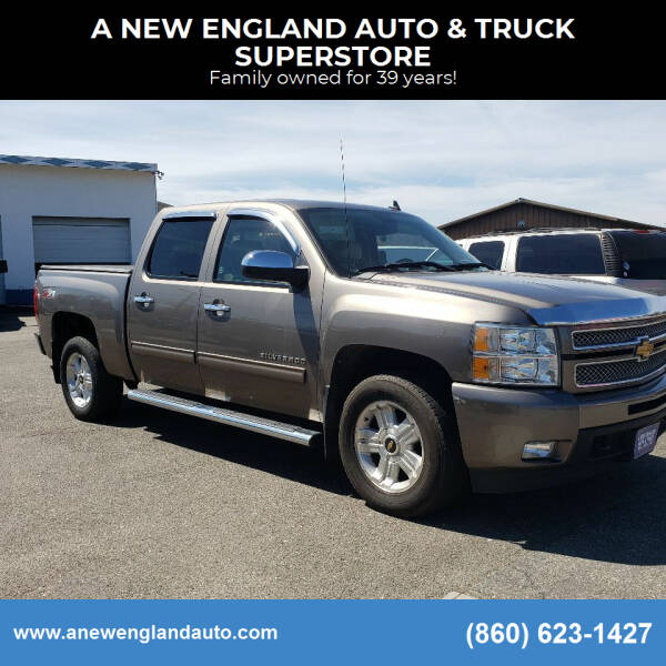 2012 Chevrolet Silverado 1500 for sale at A NEW ENGLAND AUTO & TRUCK SUPERSTORE in East Windsor CT