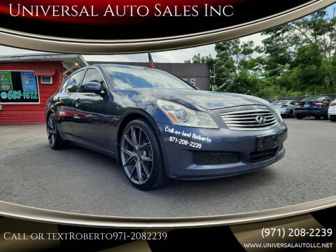 2008 Infiniti G35 for sale at Universal Auto Sales Inc in Salem OR