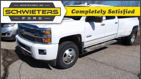 2015 Chevrolet Silverado 3500HD for sale at Schwieters Ford of Montevideo in Montevideo MN