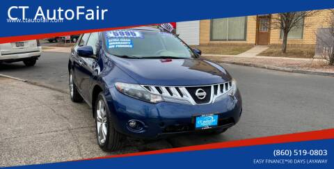 2009 Nissan Murano for sale at CT AutoFair in West Hartford CT
