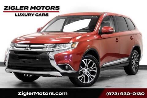 2018 Mitsubishi Outlander for sale at Zigler Motors in Addison TX
